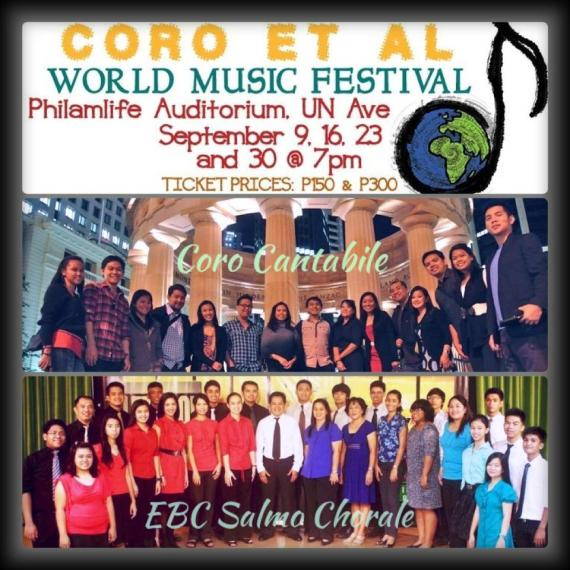 the Salmo Chorale joins the Annual Coro et al Festival.