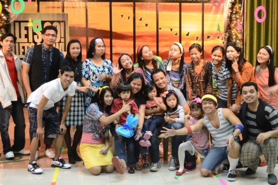 (let's go back to the 80's) PSALMS 2012 Christmas fellowship with Ptr. Jezer Dignadice and Family.